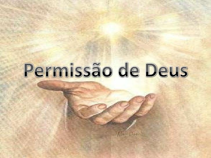 Permissão de Deus<br />