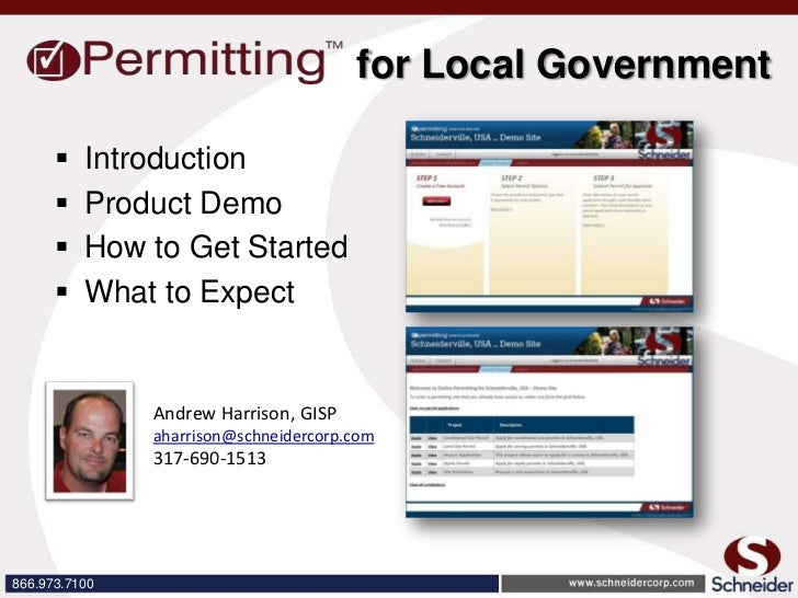 for Local Government         Introduction         Product Demo         How to Get Started         What to Expect      ...