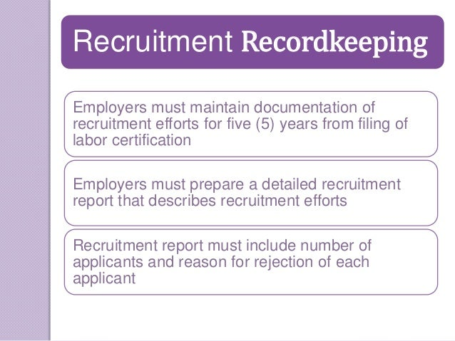 perm certification labor secrets win through ads recruitment must special rejection