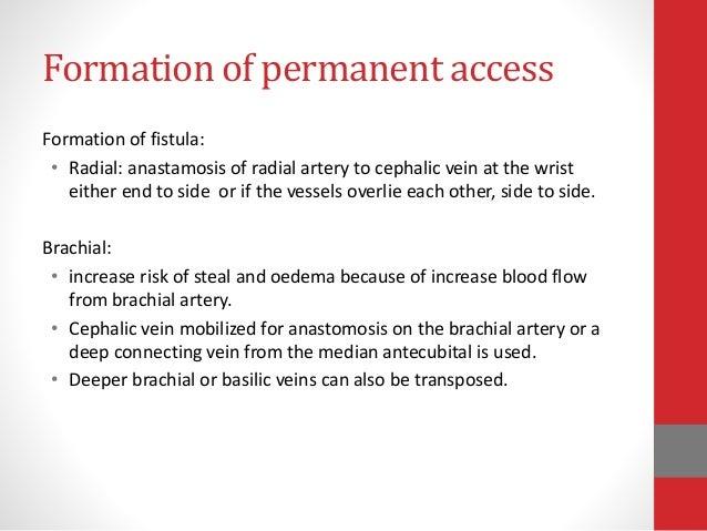 permnent vascular access, Cephalic Vein