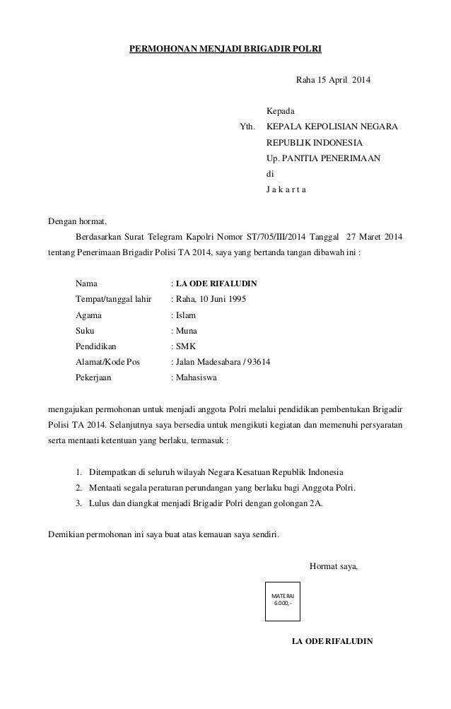 . KEPALA KEPOLISIAN NEGARAREPUBLIK INDONESIAUp. PANITIA P