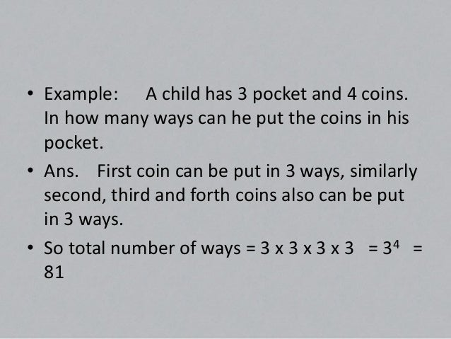 Circular permutations• There are two cases of circular-permutations:-• (a)    If clockwise and anti clock-wise orders  are...