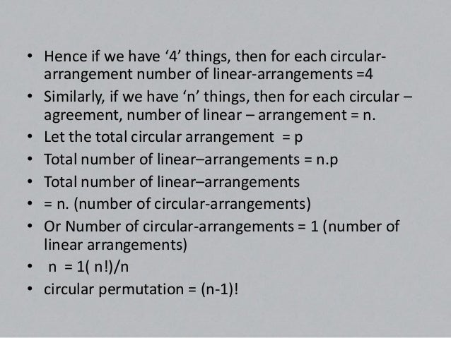 Proof (b) When clock-wise and anti-clock wise arrangements  are not different, then observation can be made from both  sid...
