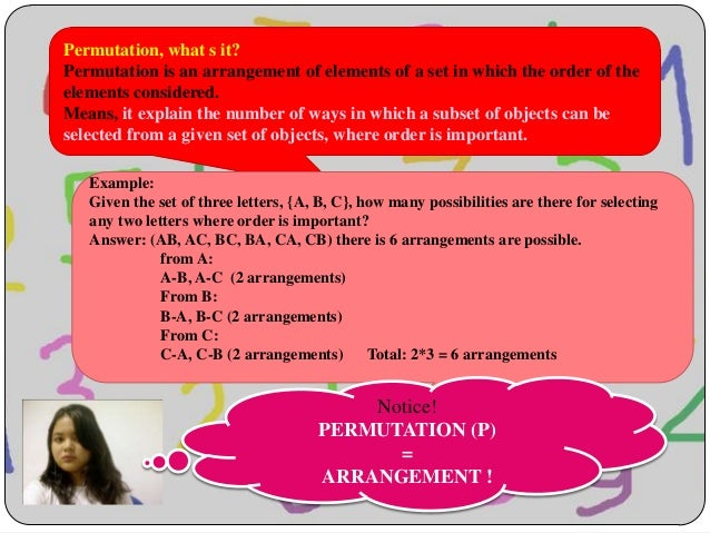 Permutation and combination - Math Statistic Slide 2