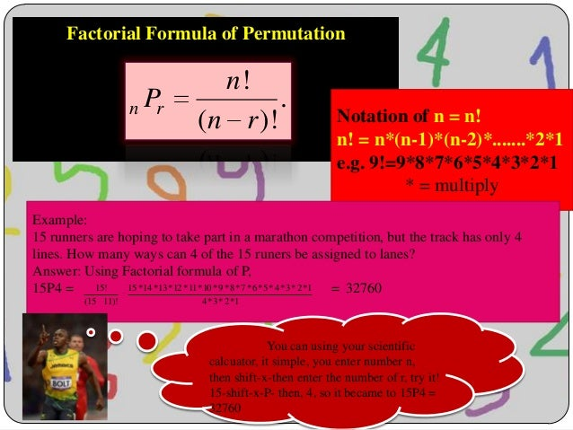 Permutation and combination - Math Statistic Slide 3
