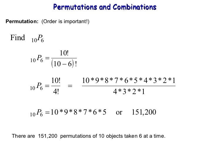 Printables Permutations And Combinations Worksheet combinations and permutations worksheet syndeomedia