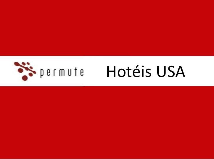 Hotéis USA