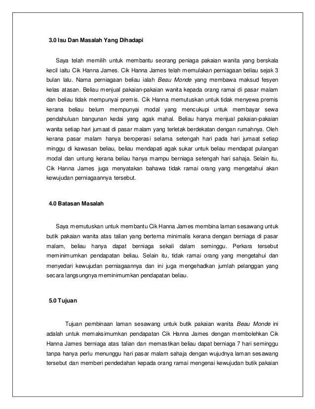 Kerja Kursus Perniagaan 2019 Spm - Rasong