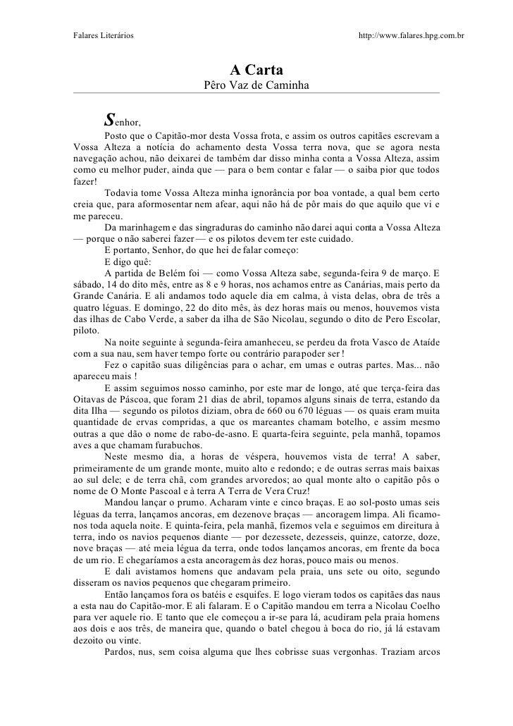 Falares Literários                                                    http://www.falares.hpg.com.br                       ...