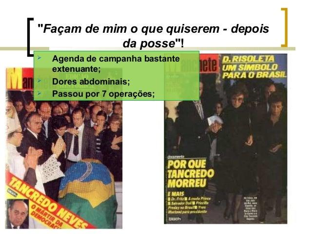 PERÍODO DEMOCRÁTICO DA HISTÓRIA DO BRASIL 1985 A 2013 Slide 3