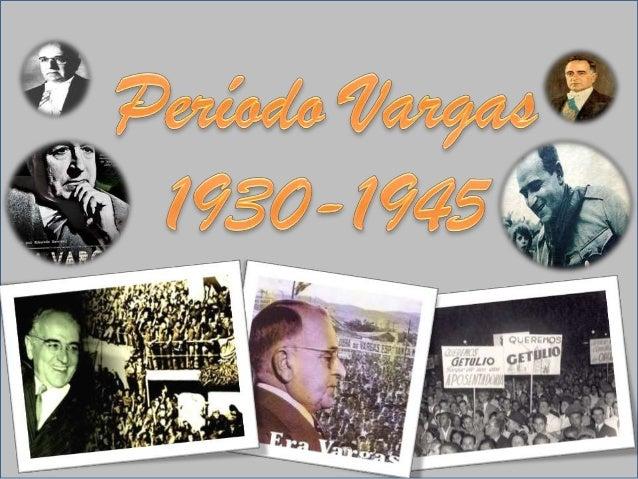 Durante o governo de Getúlio Vargas, ocorreram diversas transformações nacionais: a industrialização progrediu de forma su...