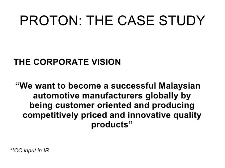 perodua case study [pic] universiti teknikal malaysia melaka (mtkm 5083) strategic technology management proton-perodua merger case study 29-july 2010 as a marketing manager for published this no reads.