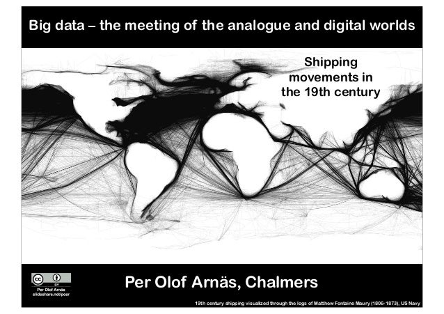 Shipping movements in the 19th century 19th century shipping visualized through the logs of Matthew Fontaine Maury (1806-1...