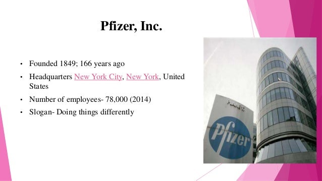 overview of pfizer inc and pharmaceutical industry Find the latest and comprehensive swot & pestle analysis of pfizer, the american pharmaceutical giant and one of the world's largest pharmaceutical companies.