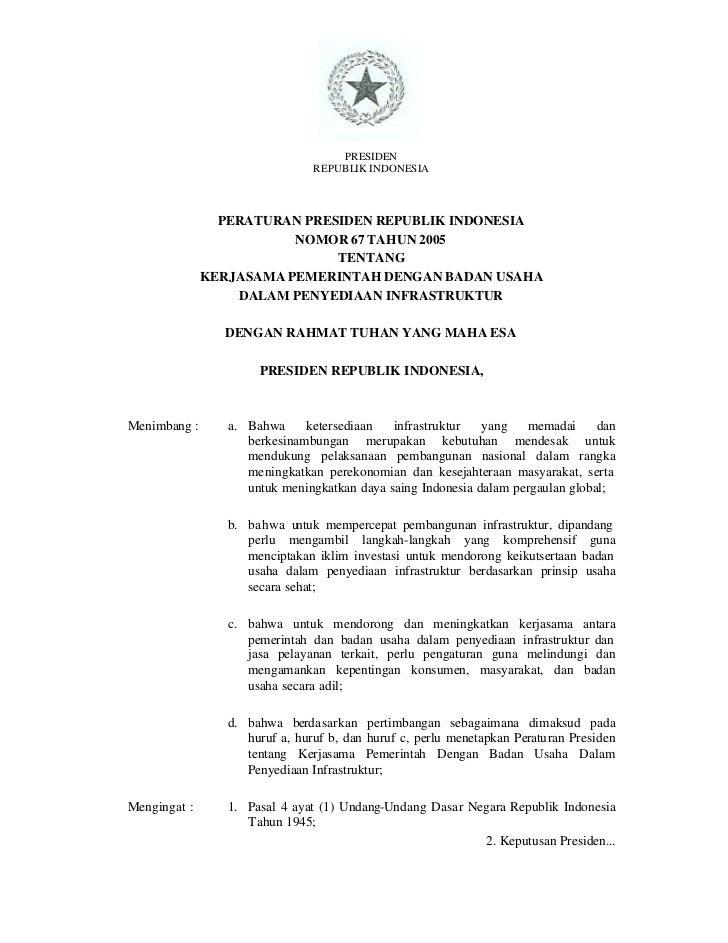 PRESIDEN                                REPUBLIK INDONESIA                PERATURAN PRESIDEN REPUBLIK INDONESIA           ...
