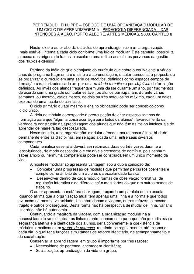Pedagogia Diferenciada Philippe Perrenoud Pdf Download