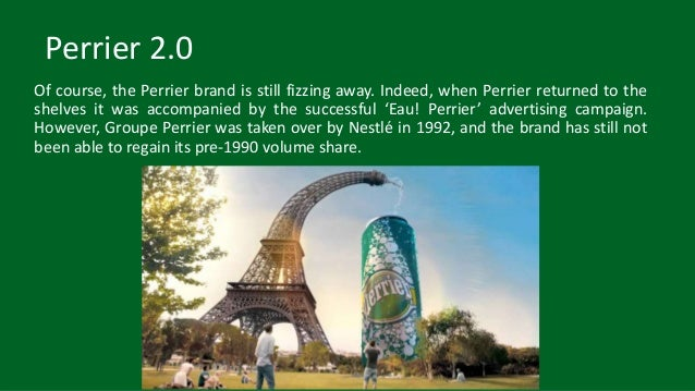 perrier case study Need essay sample on perrier marketing case study we will write a custom essay sample specifically for you for only $ 1390/page.