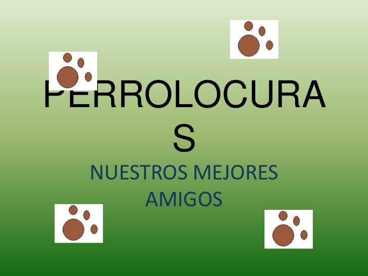 PERROLOCURAS<br />NUESTROS MEJORES AMIGOS<br />