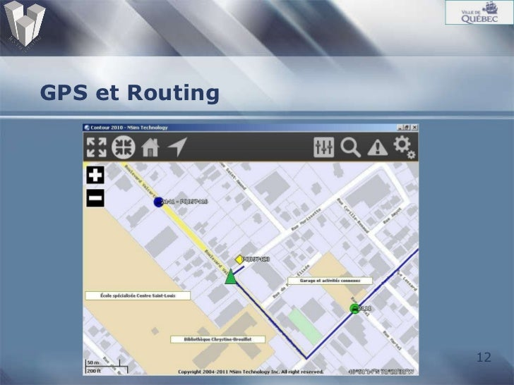 GPS et Routing