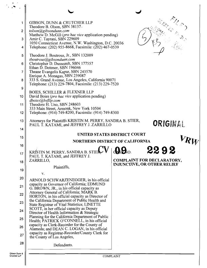 FindLaw   Lawsuit Over Cal. Supreme Court's Ruling on Prop. 8