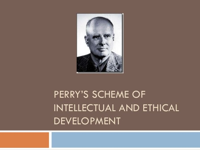 """PERRY""""S SCHEME OFINTELLECTUAL AND ETHICALDEVELOPMENT"""