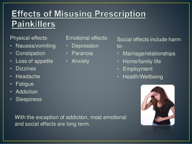 Effects to families of drug addicts