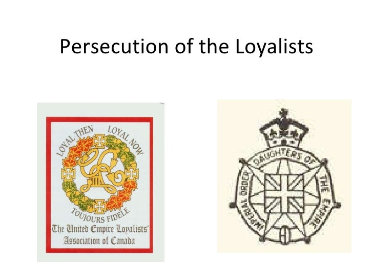 Persecution of the Loyalists