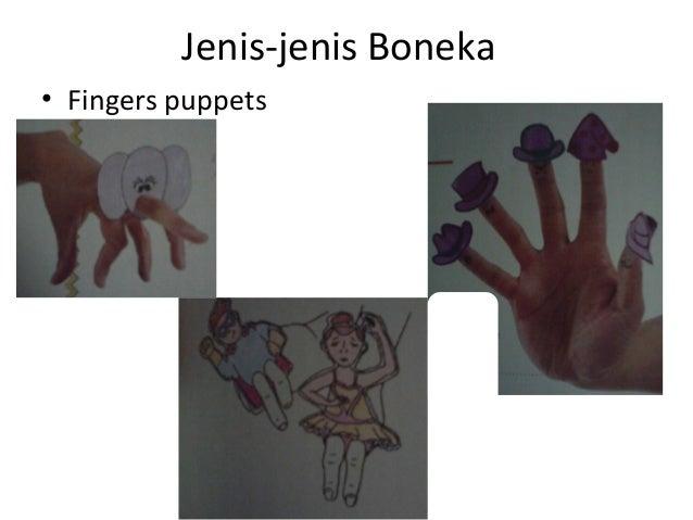 Jenis-jenis Boneka • Fingers puppets