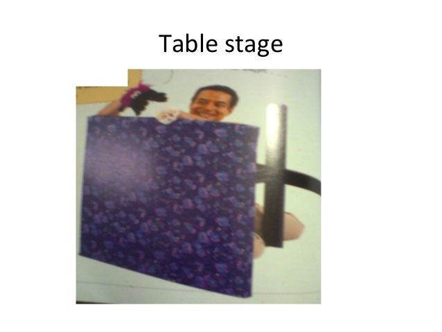 Table stage