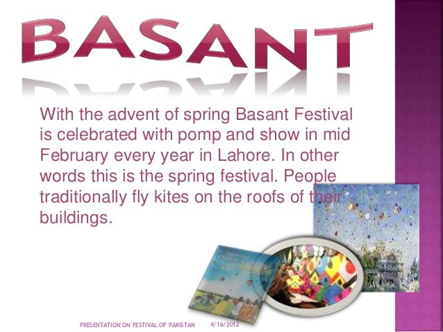 Essay on spring festival in pakistan