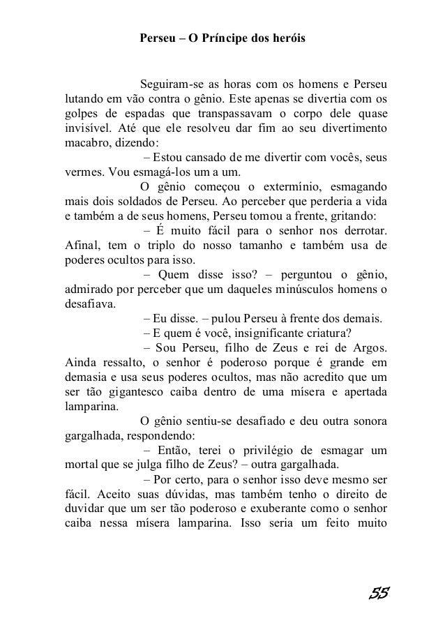 PERSEU O PRINCIPE DOS HERÓIS