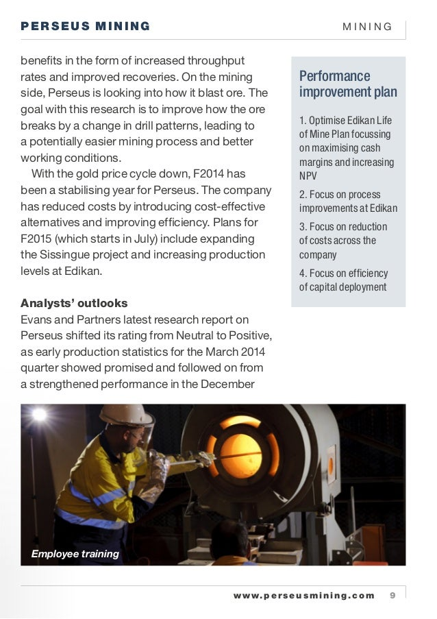 Top Gold Mines The Perseus Mining Owned Edikan Gold
