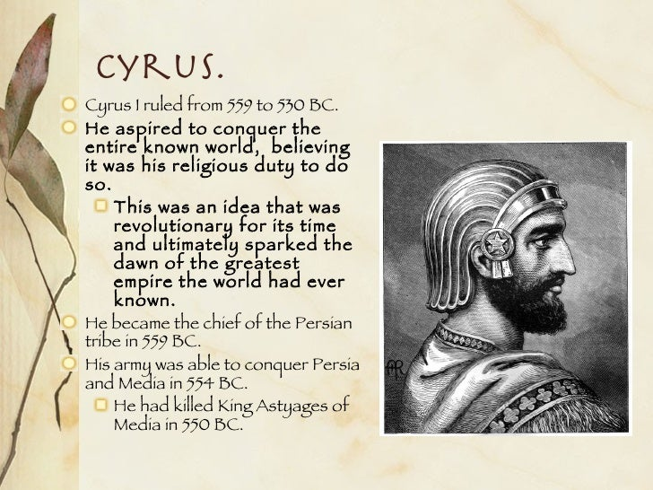 herodotus description of cyrus the king of the persians Essays and criticism on herodotus - critical essays the story of croesus and cyrus in part one herodotus provides a detailed description of the nile.