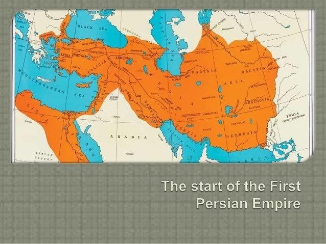HISTORY: Persian Empire & Architecture