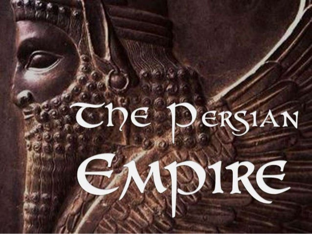 an introduction to the history of the persian empire Seeking security through an alliance with persia made sense because the persian kingdom (or persian empire, as it is more often called, despite its monarch being referred to as a king, not an emperor) had become the richest, largest, and most militarily powerful state in the ancient mediterranean and near eastern world.
