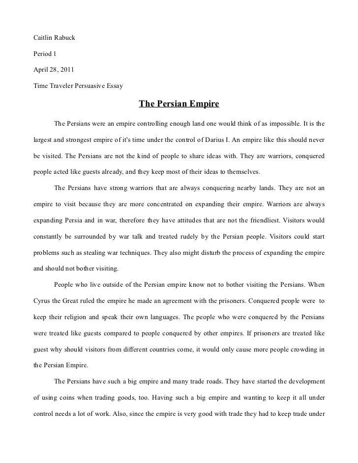 persian empire essay