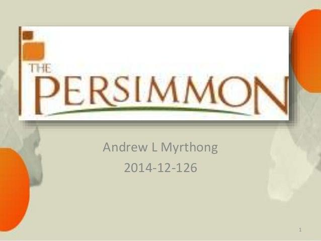 Andrew L Myrthong 2014-12-126 1