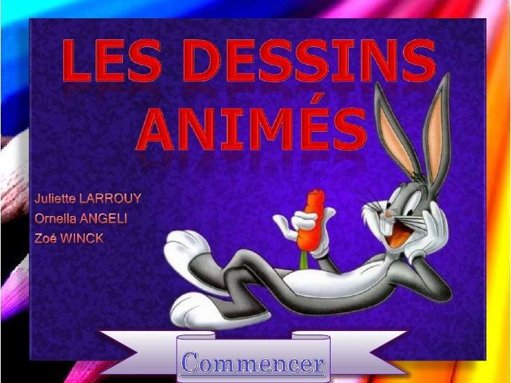 Alors que notre enfance fut bercée par des dessins animés, nous nous sommes aujourdhui interrogées sur leur fonctionnement...