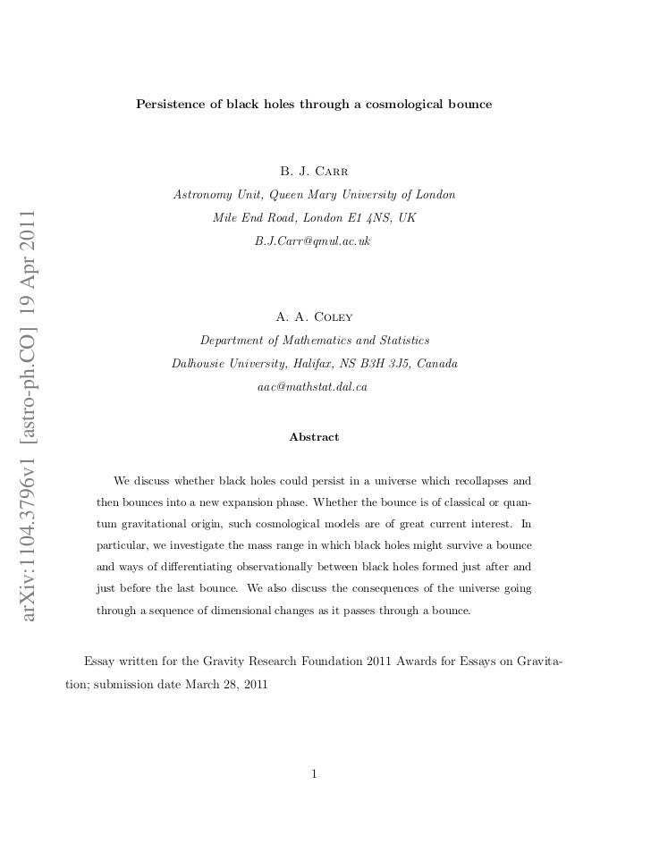 Persistence of black holes through a cosmological bounce                                                                  ...