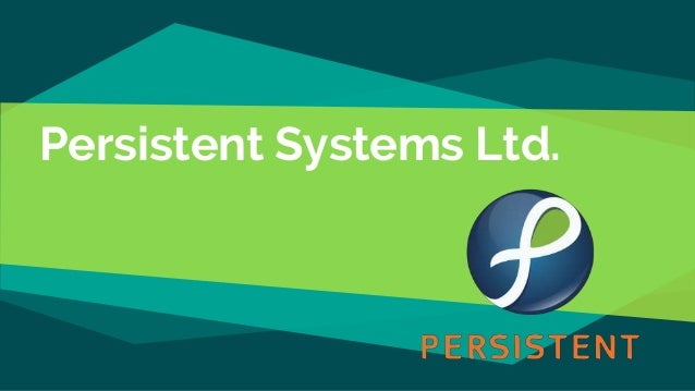 persistent systems ppt Persistent systems traditional software: data stored outside of program  persistent systems: data part of program execution never stops transaction  systems.