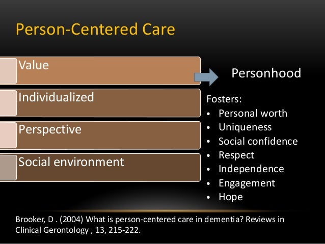 person centred values 2 essay Person-centred care made simple introduction 2 what is person-centred care 5 treatments based on their values and preferences.