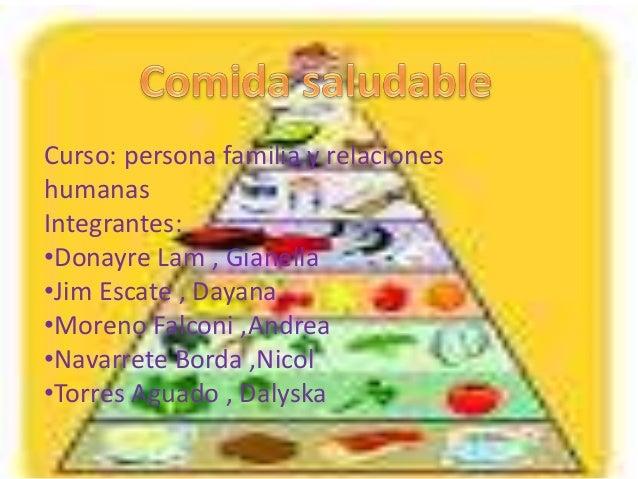 Curso: persona familia y relaciones humanas Integrantes: •Donayre Lam , Gianella •Jim Escate , Dayana •Moreno Falconi ,And...