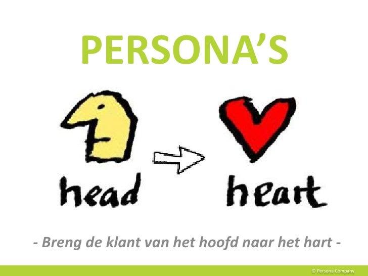 THE POWER OF PERSONA'SHoe persona's organisaties klantgerichter maken                                            © Persona...