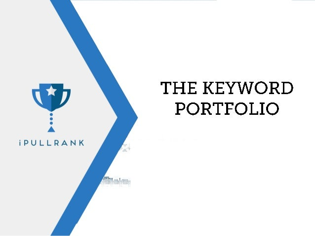 With the BuiltVisible (fka SEOgadget) method of visualizing + the wealth of data we collect we can now visualize keywords ...