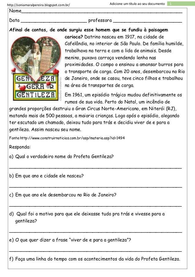http://soniamaralpereira.blogspot.com.br/ 1Adicione um título ao seu documento Nome_______________________________________...