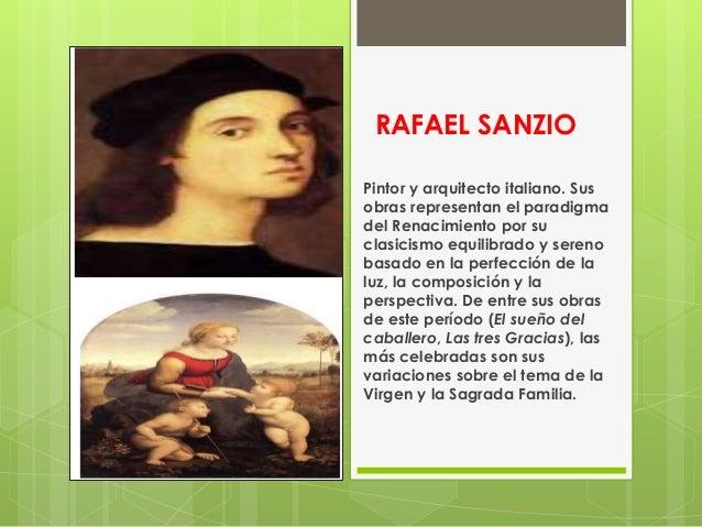 Personajes del renacimiento for Arquitectos y sus obras