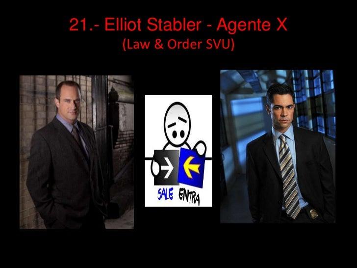 21.- ElliotStabler - Agente X (Law & Order SVU)<br />