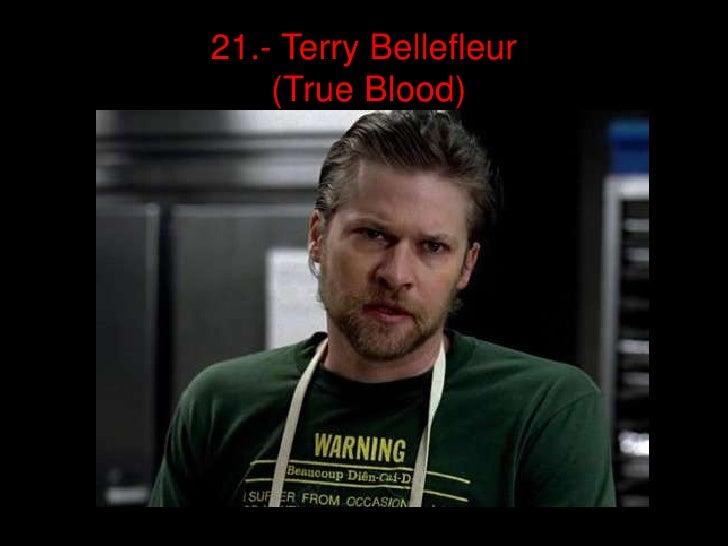 21.- Terry Bellefleur    (True Blood)