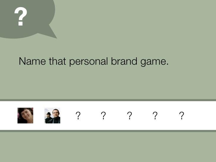 Personal Branding (09) Slide 16