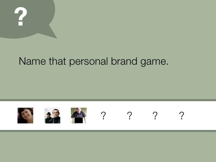 Personal Branding (09) Slide 17